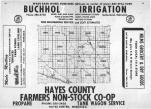 Index Map, Hayes County 1966